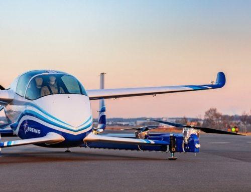 Boeing réussit le décollage de sa première voiture volante autonome