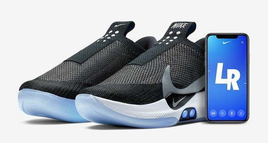 Nike lance des baskets connectées auto laçantes Quantstreams