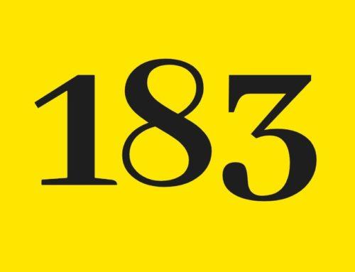 Le chiffre de la semaine : 183